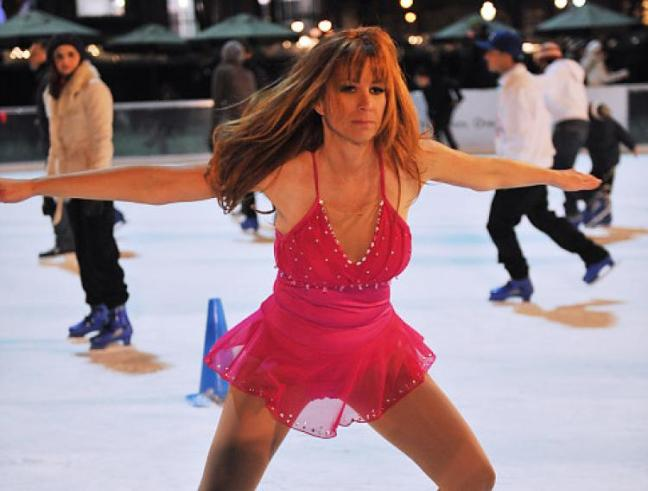 jill zarin skating