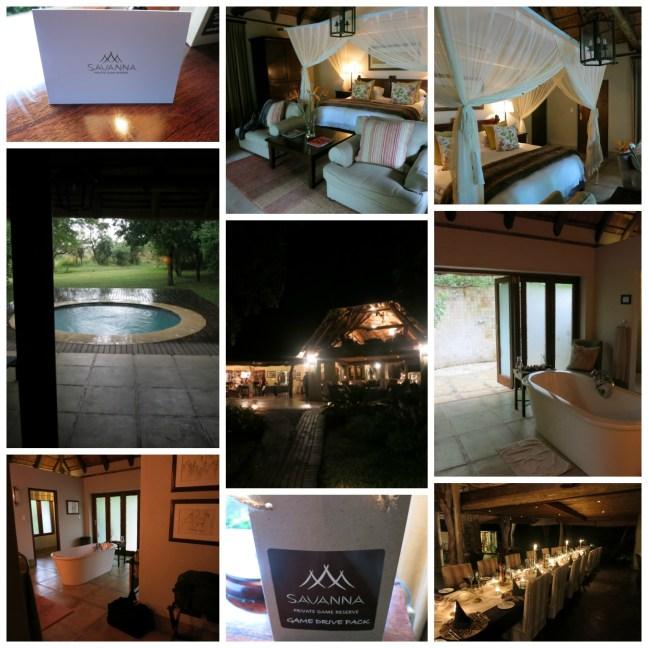 Savanna Lodge Collage