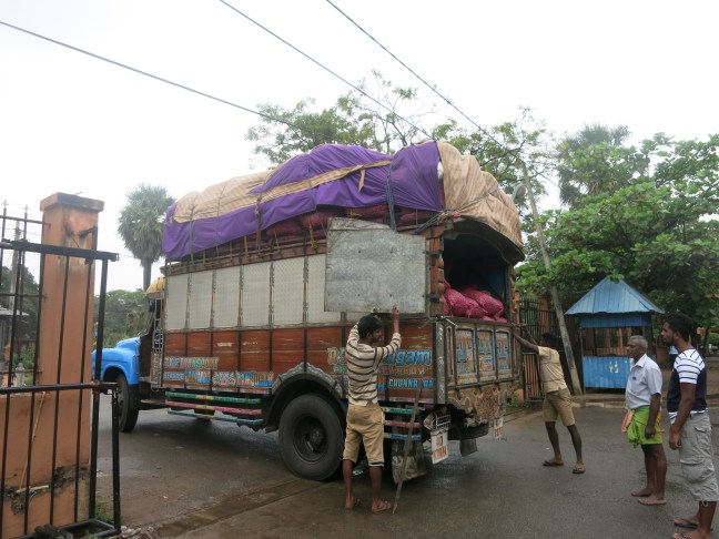 Sri Lanka delivery truck