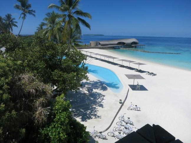 St. Regis Maldives beach