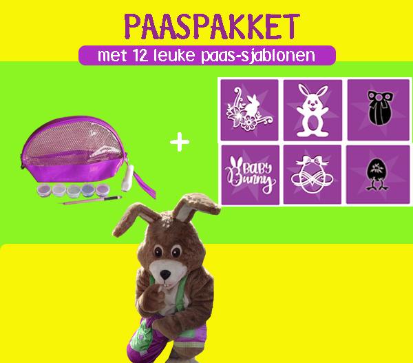 Paassjablonen of Paassetje nu beschikbaar