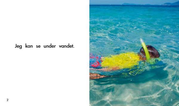 Solstrålebøger Under vandet opslag