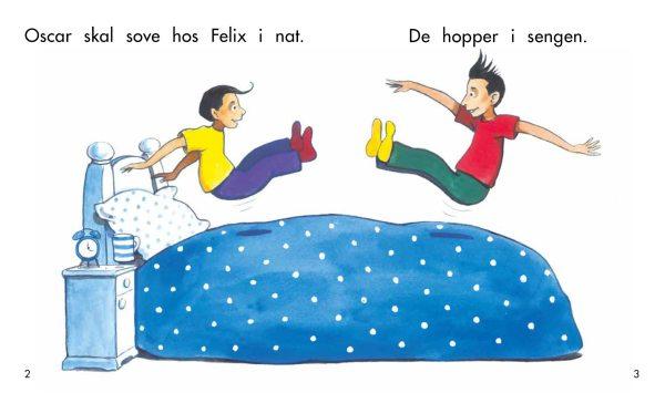 Oscar skal sove hos Felix opslag