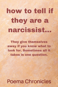 To if narcissist tell how you re a What to