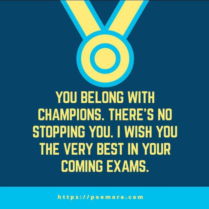 exam success wishes messages and prayers