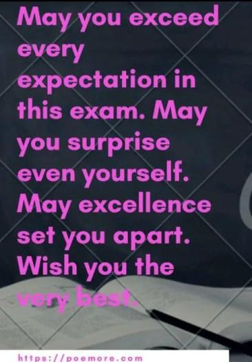 Exam Message For Success