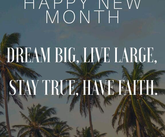 happy new month wishes text messages