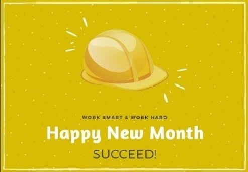 Happy New Month Wishes to a Colleague