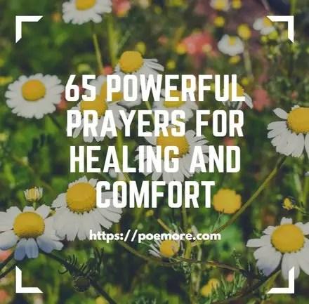 Comforting Messages Healing Prayers
