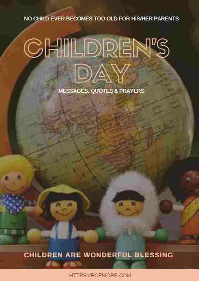 Happy Children's Day Quotes, Messages and Prayers