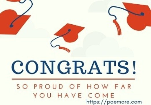 Congratulations on Graduation Messages