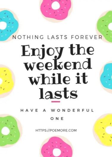 Wonderful Weekend Wishes