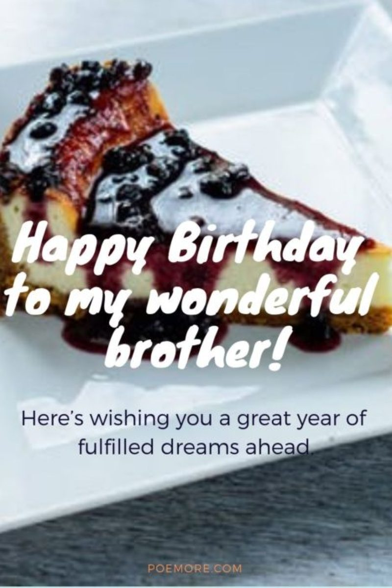 Birthday Wishes For Younger Brother Quotes Happy