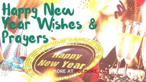 Happy New Year Wishes and Prayers for 2021