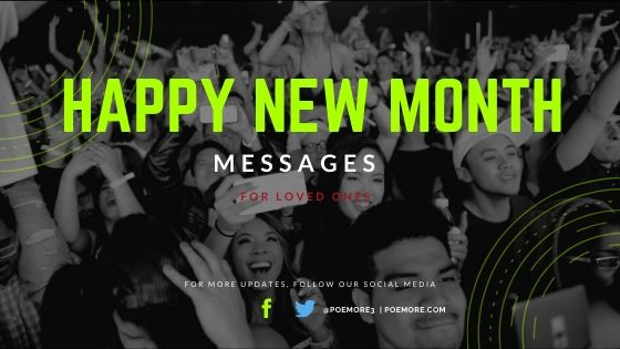 60+ Best Happy New Month Messages for Loved Ones & Friends