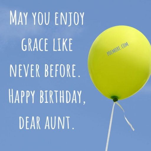 Happy Birthday Aunt Prayers