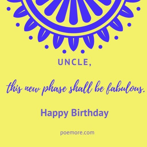 Birthday Wishes for Elder Uncle