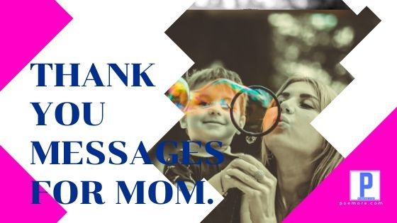 Sweet Thank You Messages for Mom on Mother's Day