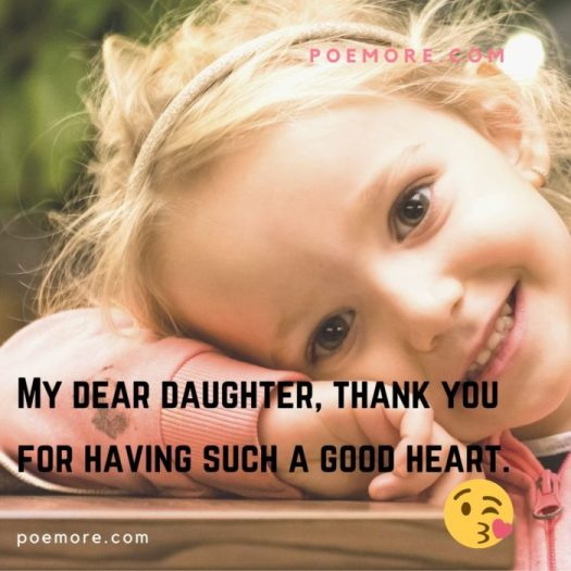 Thank You Daughter Image