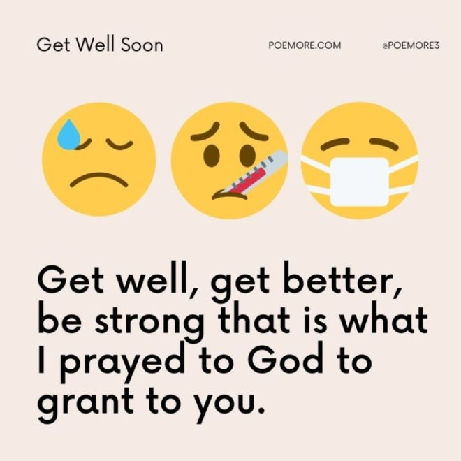 80+ Get Well Wishes