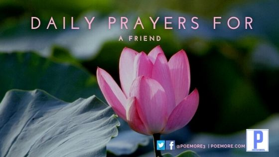 Daily Prayers For a Friend with Prayer Quotes