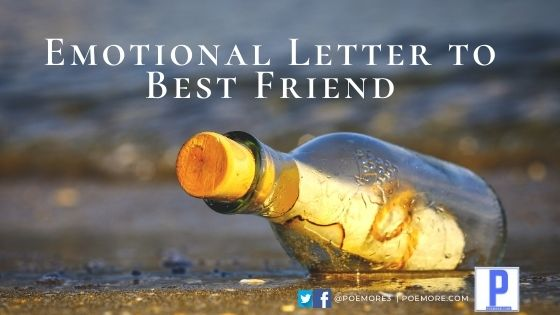 Emotional Letter to Best Friend