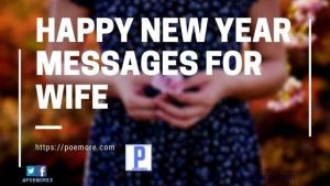 Best Happy New Year Messages for Wife