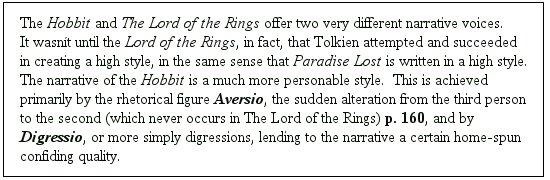 Hobbit Footnote