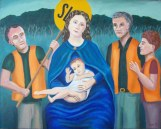 Adoration of the roadworkers