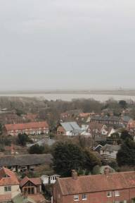 Orford seen from Orford Castle