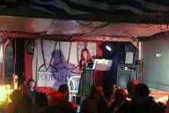 Hilary Hares reading her poem