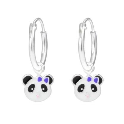 Panda creolen