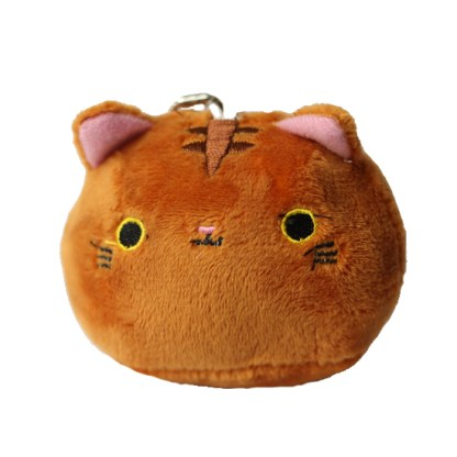 Kawaii katje knuffel bruin