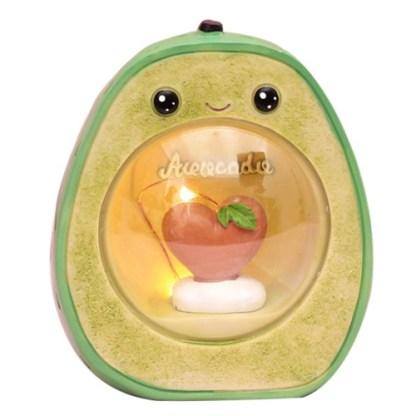kawaii avocado lampje