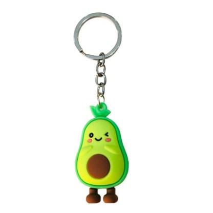 Sleutelhanger avocado happy feet