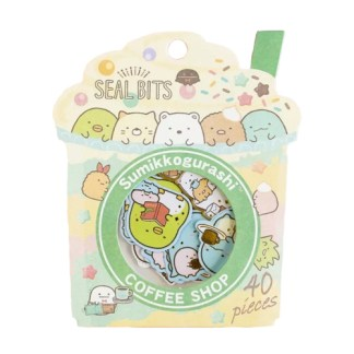 Sumikko Gurashi stickers Milkshake
