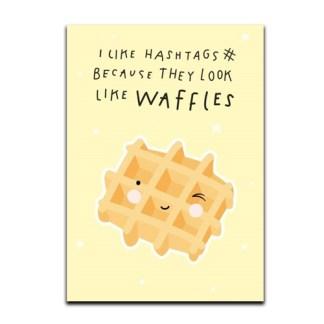 Kaart waffles