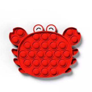 Kawaii pop-it game krab