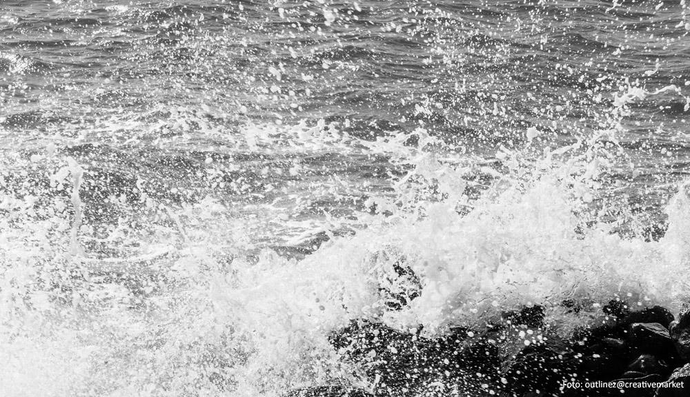 Flügel im Meer