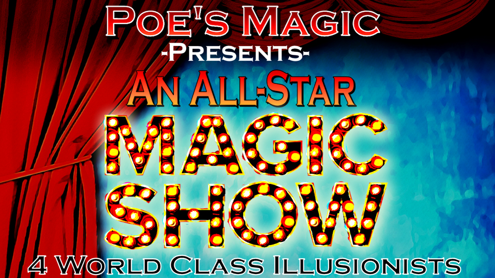 2 nights of World Class Magic!