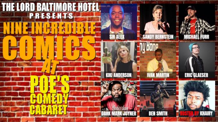 Poe's Comedy Cabaret premiere