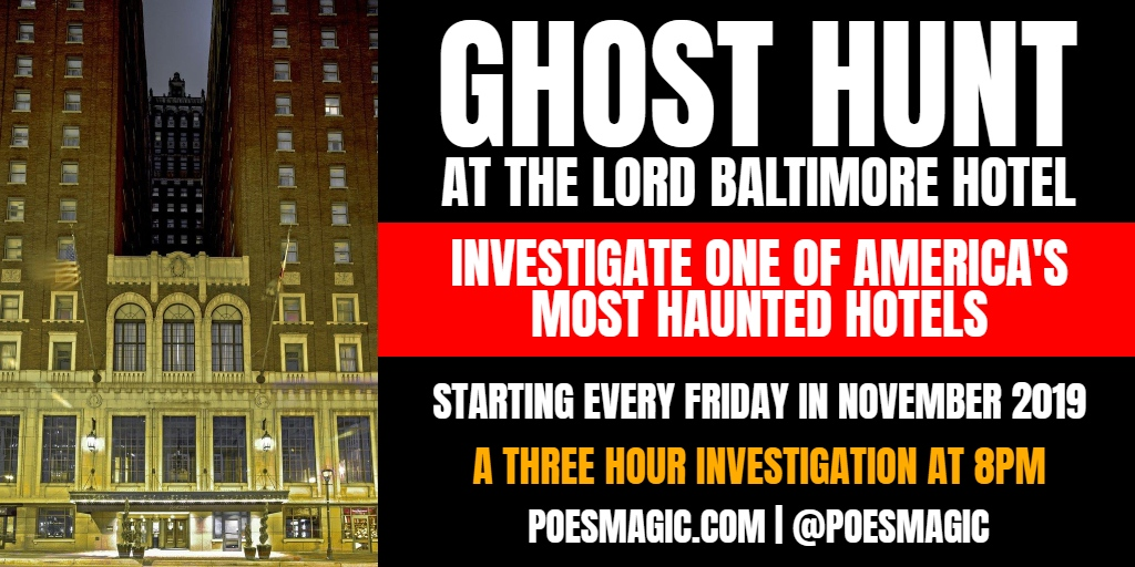 Ghost Hunt at The Lord Baltimore