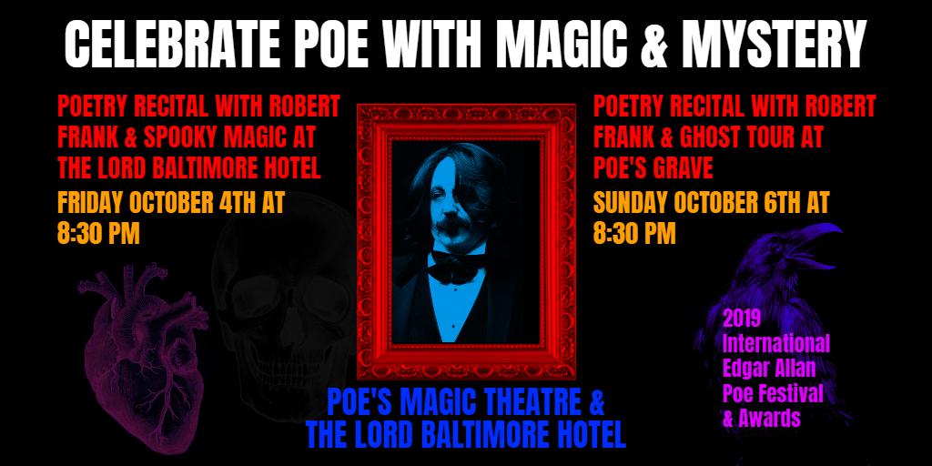 Magic & Mystery with Edgar Allan Poe