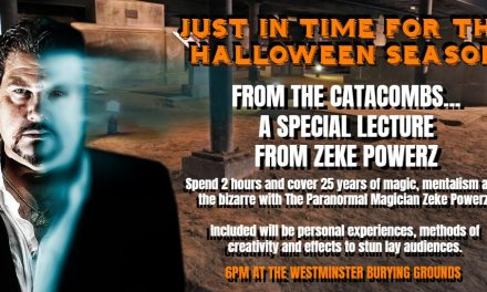 A Special Lecture in the Catacombs with Zeke Powerz