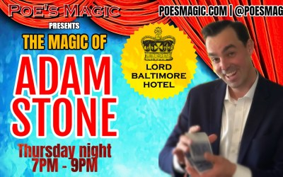 Adam Stone at The Lord Baltimore Hotel