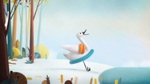 Cisne Assustado1