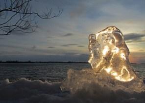 Ice At Sunset2