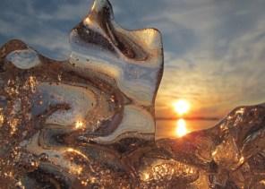 Ice At Sunset3