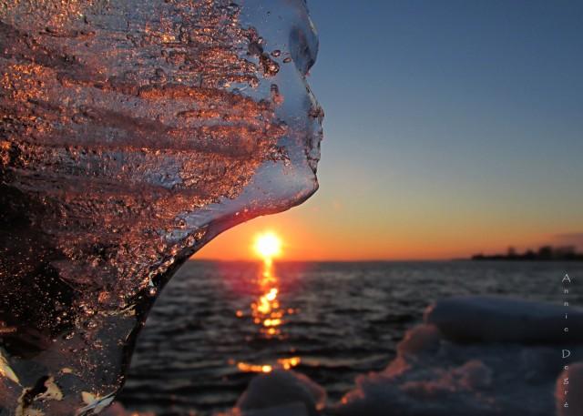 Ice At Sunset6