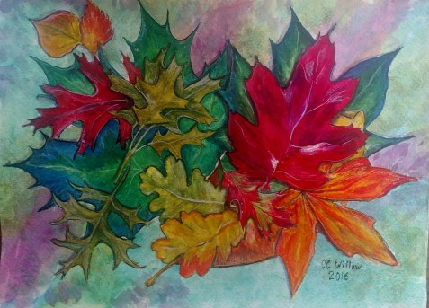 Nature's Jewels watercolor
